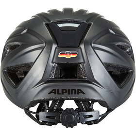 Alpina Haga LED Hjelm, black matt